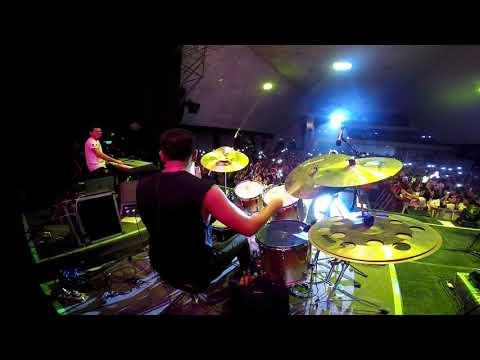 #Drumcam  Emilio Osorio - Joaquin Bondoni // Luis Espinoza drummer // #perfectour 2020 - Aristemo