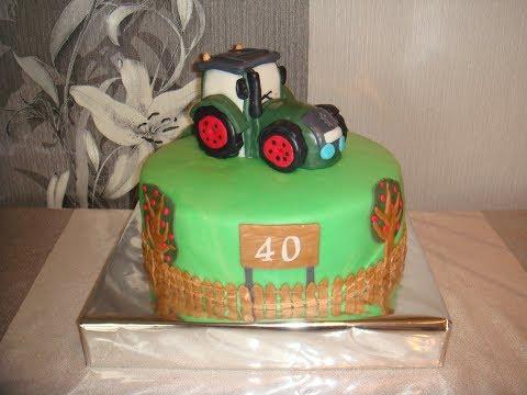 Tractor Cake - 3D Kids cake