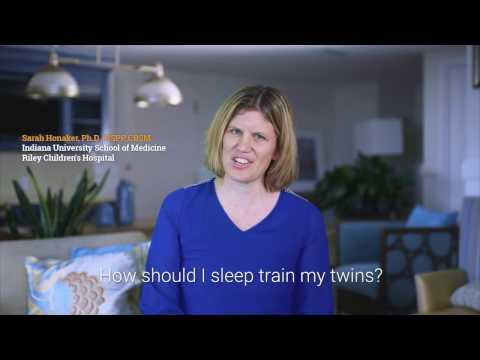How should I sleep train my twins? - Dr. Sarah Honaker