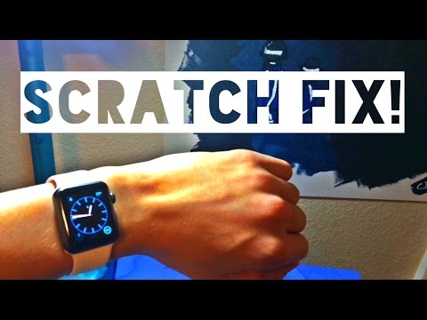 How To Fix Scratches On An Apple Watch Sport For UNDER $3