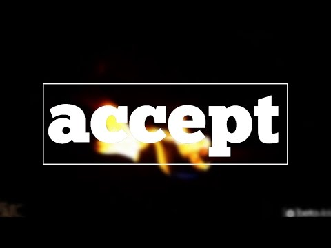 Learn how to spell accept