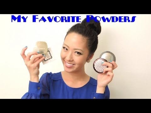 REVIEW: My Favorite Powders - Powder Foundations, Pressed/Travel Compacts, Loose Setting Powders
