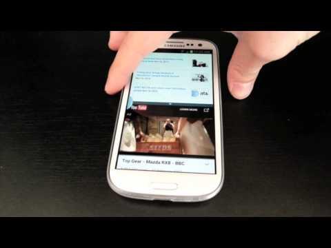 Galaxy S III Multi Window Feature!