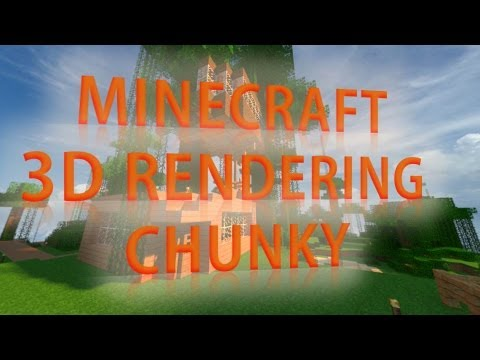 Chunky - How To Make Minecraft 3D Renders!