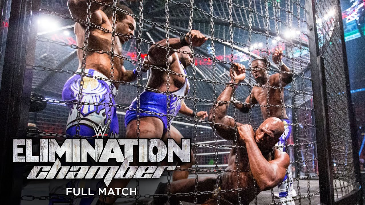 FULL MATCH - WWE Tag Team Championship Elimination Chamber Match: WWE Elimination Chamber 2015