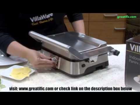VillaWare NDVLPAPFS1-SHP Panini Grill