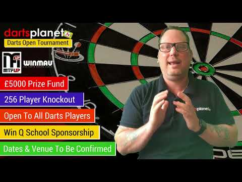 £5000 DARTS PLANET TV OPEN TOURNAMENT - OPEN TO ALL PLAYERS