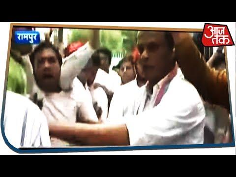 Xxx Mp4 रामपुर में आजम खान पर हो रही कार्रवाई के खिलाफ जबरदस्त हंगामा 3gp Sex