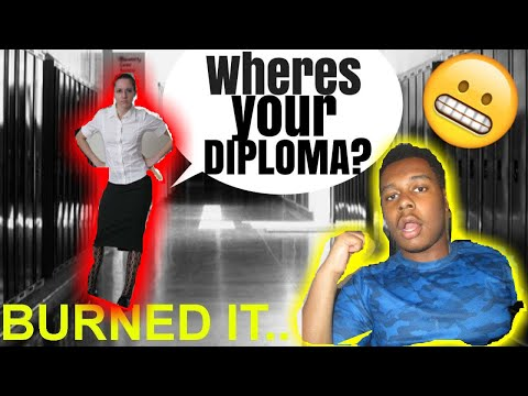 (GOING BACK TO SCHOOL PRANK) EVER SINCE BURNING HIGHSCHOOL DIPLOMA