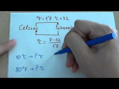 Temperatura y cambio de unidades (kelvin, celsius y farhenheit)