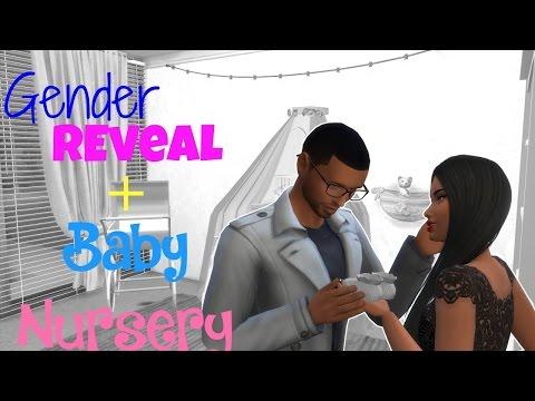 Baby Gender Reveal + Nursery!