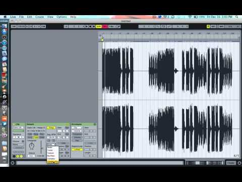 Change Pitch In Vocals Ableton