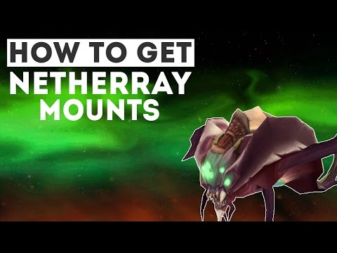 How to Get the Nether Ray Mounts!