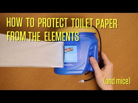 Make a Toilet Paper Dispenser for Camping