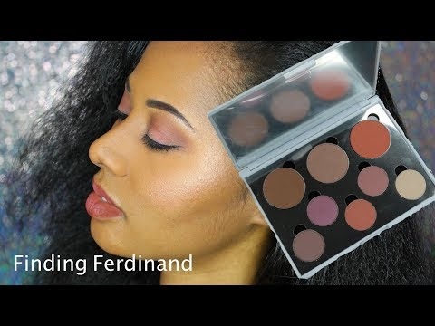 Finding Ferdinand Overnight Palette Look