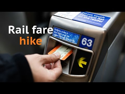 Rail passengers react to ticket price hike on Twitter