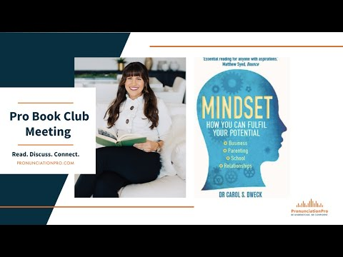 Mindset- Pronunciation Pro BOOK CLUB