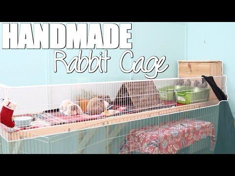 New Handmade Rabbit Cage Tour