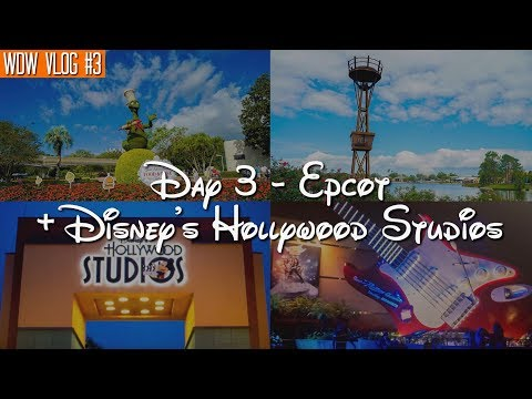 Walt Disney World Vlog: Day 3 - Epcot + Resort Hopping + Disney's Hollywood Studios | October 2017