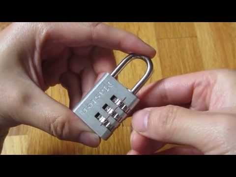 Master Lock  - How to Set and Reset Combination Instructions (HD 1080p)