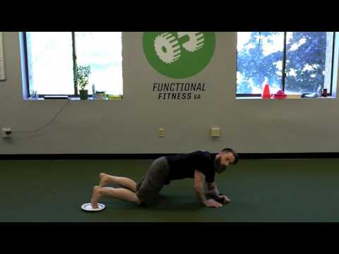 The Push Back Plank