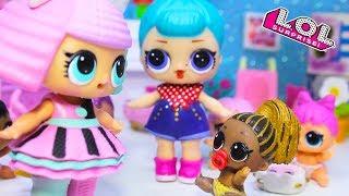 Download Детский Сад и Новенькая! Куклы ЛОЛ сюрприз распаковка. Мультик LOL Dolls Video