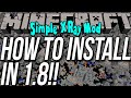 How To Install The Simple XRay Mod In Minecraft 1.8