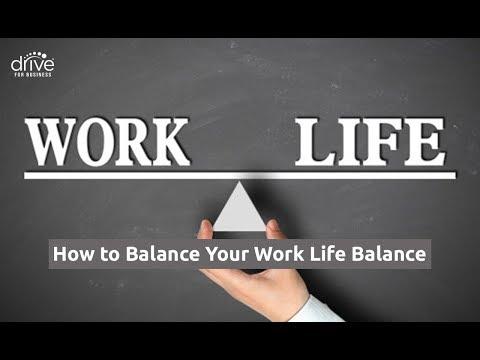 How to Balance Your Work Life Balance
