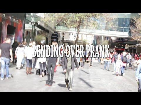 Bending Over Prank