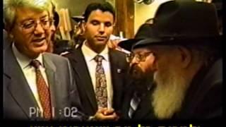 דוד לוי עם הרבי מליובאוויטש
