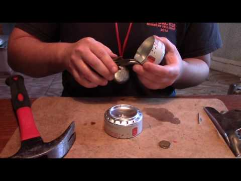 How to Make a Penny Stove