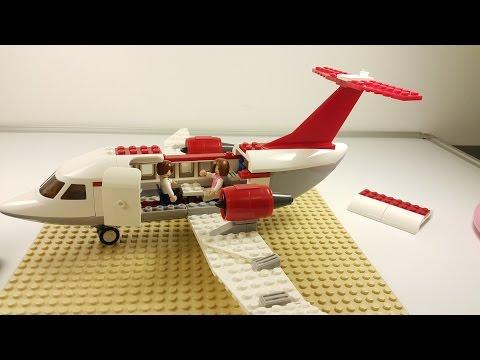 LEGO - Airplane Passengers - Fast Build.