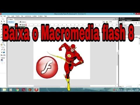 Como baixa Macromedia Flash 8