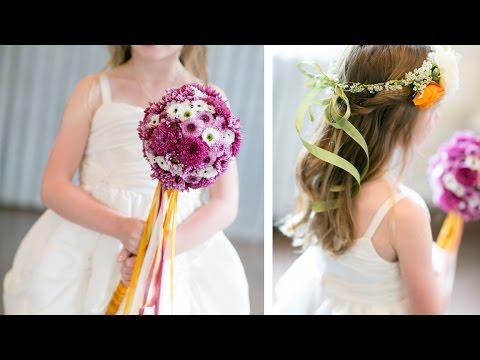 Wedding Flower Girl Pomander Wand: The DIY Bride
