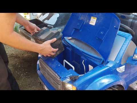 Power Wheels Lawn Tractor Battery