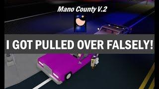 Roblox Mano County Patrol Part 49 | Fist Fight! |