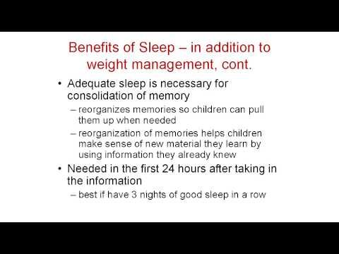 Sleep & Screen Time in Early Childhood
