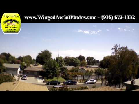 Aerial Video Roof Inspection Remote Controlled Flying Camera-HD