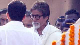 Indian Celebs at Bal Thackeray