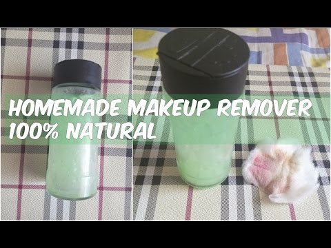 DIY Makeup Remover | Homemade Natural, Best Eye, Mascara Organic Makeup Remover for oily skin, dry