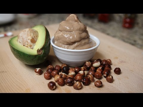 Chocolate Hazelnut Ice cream with Sea Moss