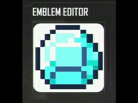 COD Black Ops 2 Minecraft Diamond Emblem Tutorial