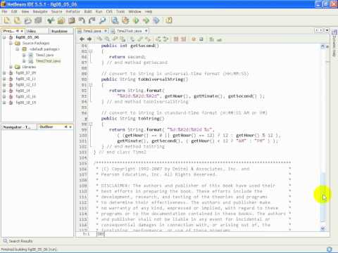 F1L7@7 Time2 java   Exercise Modifying a class's internal data representation