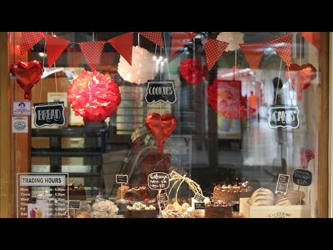 Valentines Window howto and ideas
