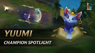 Champion Spotlight: Yuumi | Gameplay – League of Legends