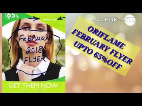 ORIFLAME sweden February flyer/print Flyer/Upto 65%off/glamindiangirl