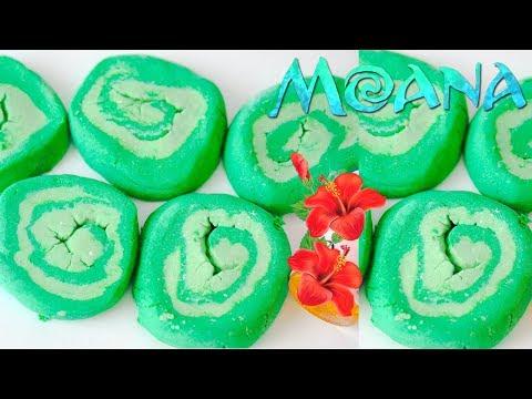 MOANA HEART OF TE FITI Bubble Bar DIY! Moana Heart Of TE FITI Skincare Hacks