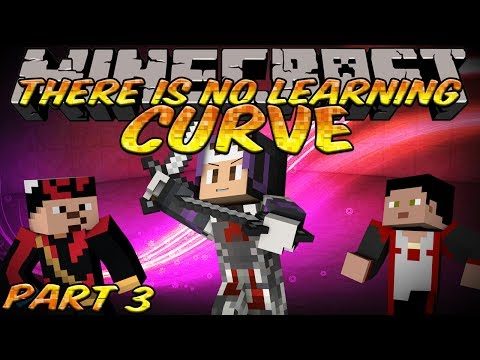 Minecraft THERE IS NO LEARNING CURVE Custom Map PART 3! - SPACE-TIME CONTINUUM!