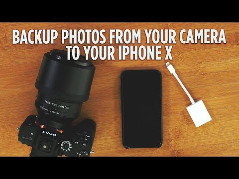 How to Backup Photos from Your Camera to Your iPhone