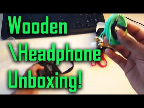 Wooden Headphone Symphonized ALN Premium Genuine Wood In-ear Noise-isolating Headphones